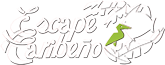 Hotels in Pueto Viejo: Escape Caribeño Bungalows Logo